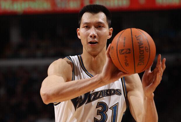 Yi Jianlian (Washington Wizards)./ Getty Images