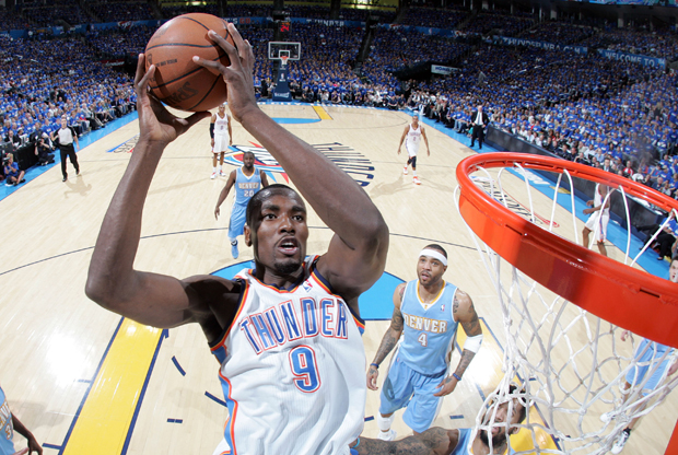 Serge Ibaka./ Getty Images