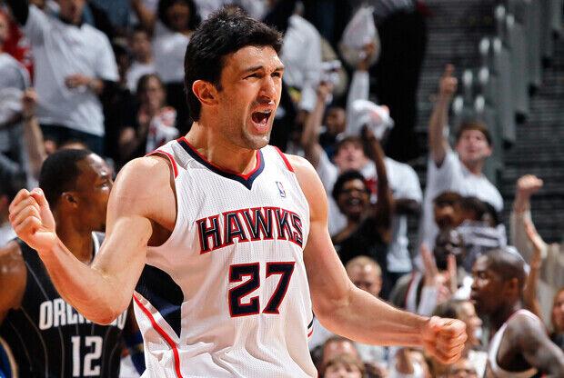 Zaza Pachulia (Atlanta Hawks)./ Getty Images