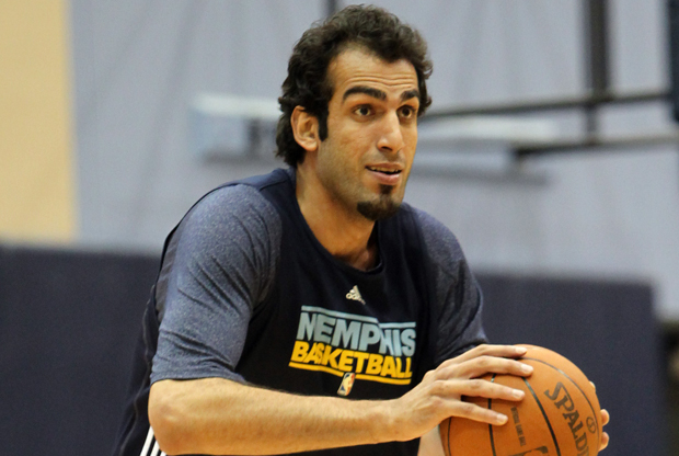 Hamed Haddadi (Memphis Grizzlies)./ Getty Images
