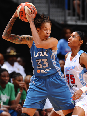 Seimone Augustus (Minnesota Lynx)./ Getty Images