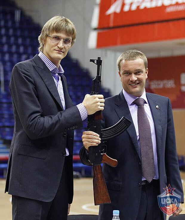 Andrei Kirilenko./ CSKA