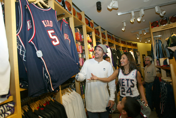 Jason Kidd at the NBA Stores 5th Anniversary Party./ Getty Images
