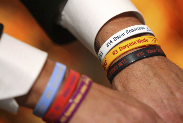 Wristbands./ Getty Images