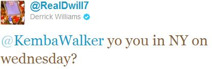 Twitter de Derrick Williams