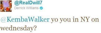 Twitter de Derrick Williams