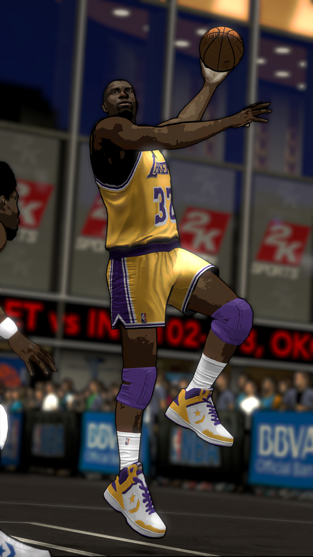 Magic Johnson ./ 2K Sports