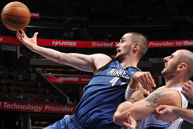 Kevin Love y Marcin Gortat./ Getty Images