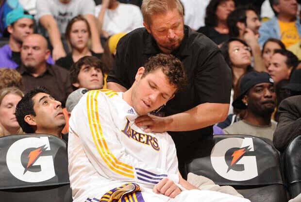 Luke Walton (Los Angeles Lakers)./ Getty Images