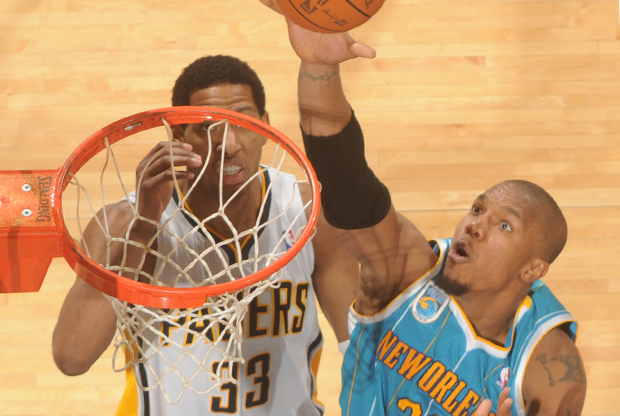 David West y Danny Granger./ Getty Images