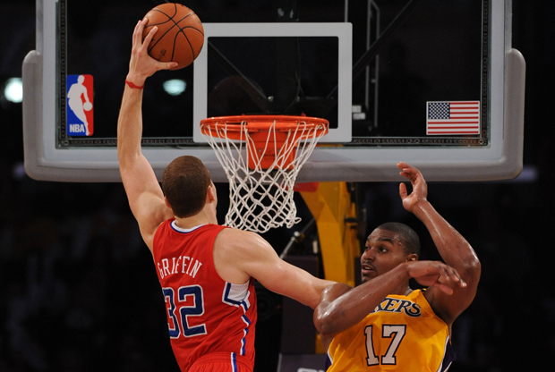Blake Griffin y Andrew Bynum./ Getty Images