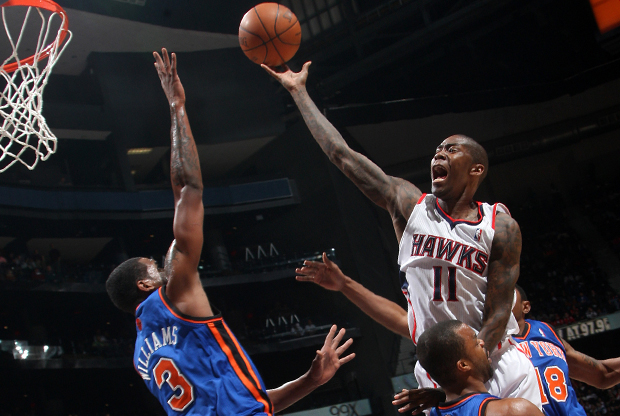 Jamal Crawford (Atlanta Hawks)./ Getty Images