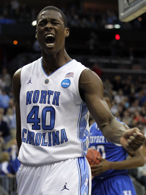 Harrison Barnes #40- North Carolina./ Getty Images