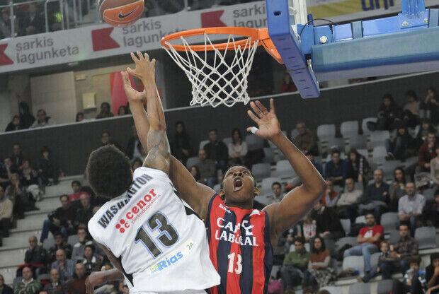 Kevin Seraphin./ ACB PHOTO/ Lino González