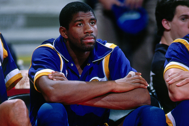Magic Johnson (Los Angeles Lakers)./ Getty Images