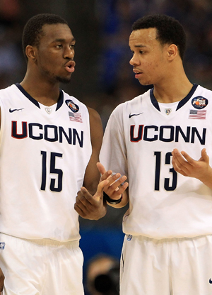Kemba Walker y Shabazz Napier./ Getty Images
