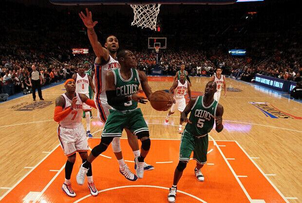 Boston Celtics vs New York Knicks./ Getty Images