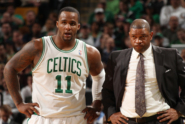 Glen Davis y Doc Rivers./ Getty Images