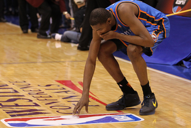 Kevin Durant (Oklahoma City Thunder)./ Getty Images