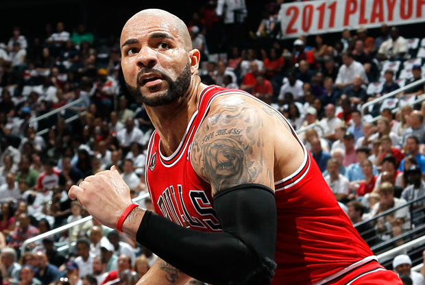 Carlos Boozer (Chicago Bulls)./ Getty Images