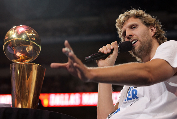 Dirk Nowitzki (Dallas Mavericks)./ Getty Images