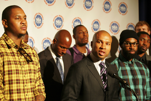 Derek Fisher - NBA Labor Negotiations./ Getty Images