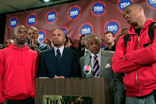 NBPA Meet To Discuss Current CBA Offer./ Getty Images