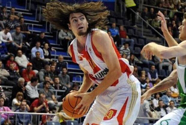 Adam Morrison./ Estrella Roja de Belgrado