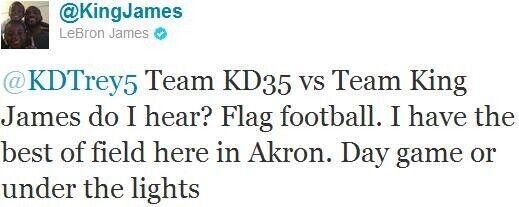 Twitter de LeBron James