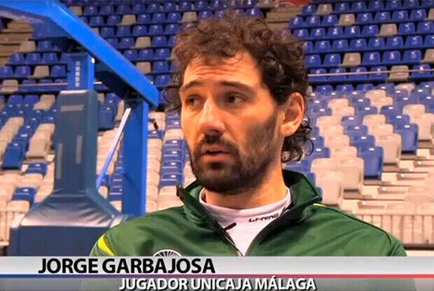 Jorge Garbajosa, jugador de Unicaja
