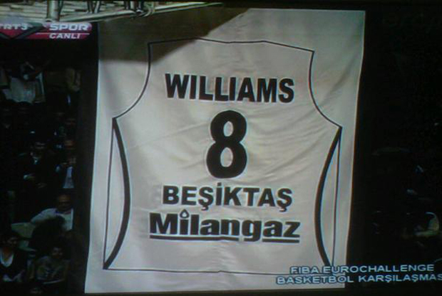 Camiseta de Deron Williams