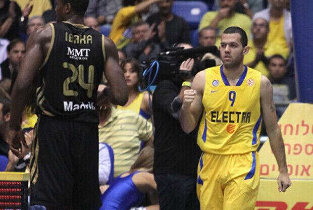 Jordan Farmar y Serge Ibaka./ Maccabi Tel Aviv