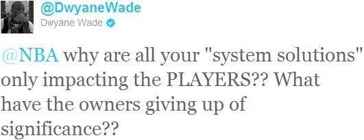 Twitter de Dwyane Wade
