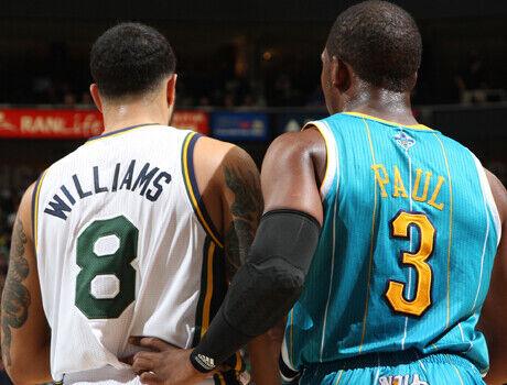 Deron Williams y Chris Paul./ Getty Images