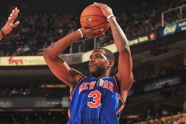 Shawne Williams (New York Knicks)./ Getty Images