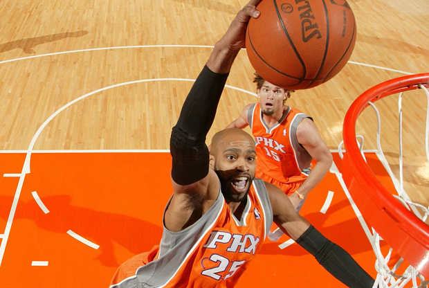 Vince Carter (Phoenix Suns)./ Getty Images