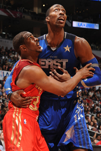 Dwight Howard y Chris Paul./ Getty Images