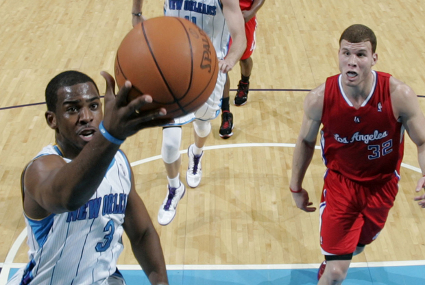 Chris Paul y Blake Griffin./ Getty Images