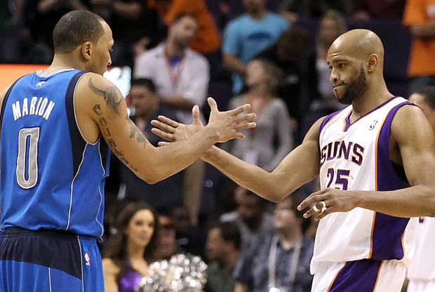 Shawn Marion y Vince Carter./ Getty Images