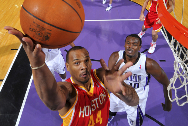 Chuck Hayes (Houston Rockets)./ Getty Images