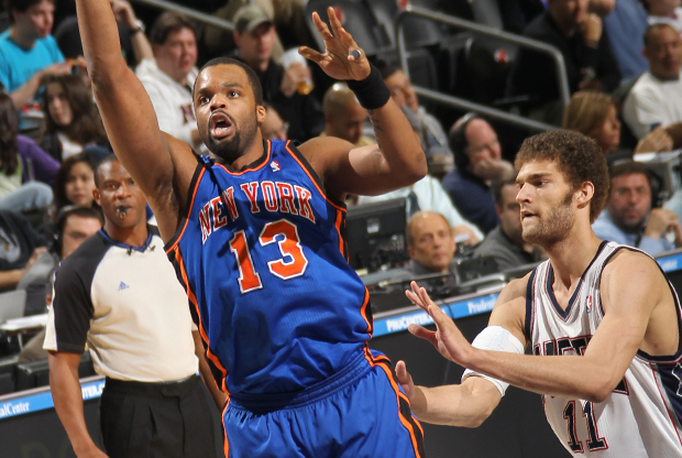 Shelden Williams y Brook Lopez./ Getty Images