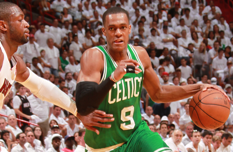 Rajon Rondo #9 (Boston Celtics)./ Getty Images
