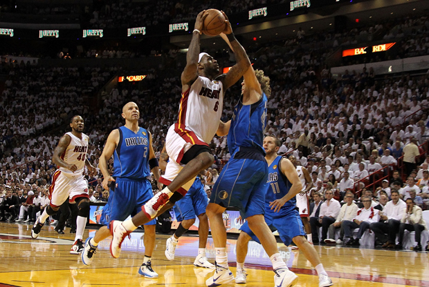 Dallas Mavericks v Miami Heat./ Getty Images