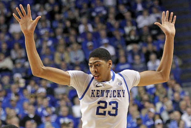 Anthony Davis (Kentucky)./ Getty Images