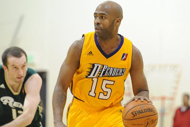 Jamaal Tinsley (Los Angeles D-Fenders)./ Getty Images