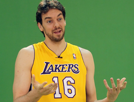 Pau Gasol (Los Angeles Lakers)./ Getty Images