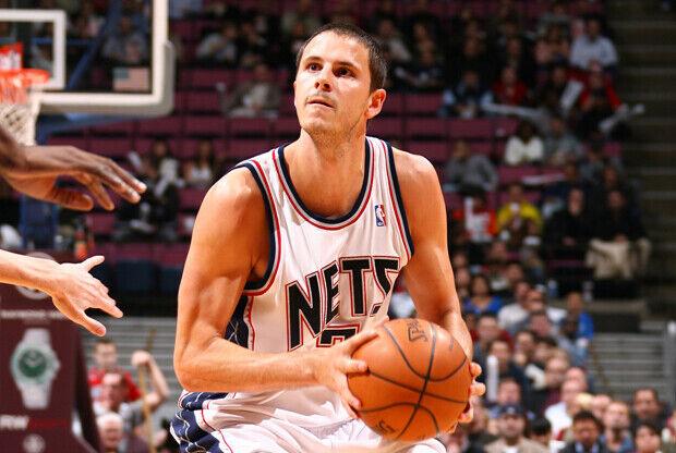 Bostjan Nachbar (New Jersey Nets)./ Getty Images