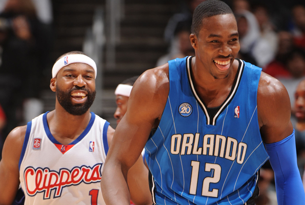 Baron Davis y Dwight Howard./ Getty Images