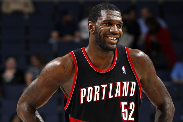 Greg Oden (Portland Trail Blazers)./ Getty Images