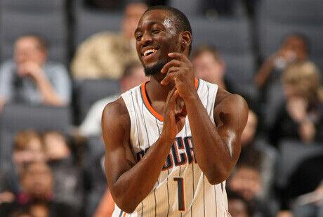 Kem Walker, en su primer partido de pretemporada con los Bobcats./ Getty
